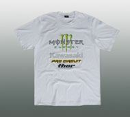 MONSTER KAWASAKI T-SHIRT GR. M / L / XL #MO22