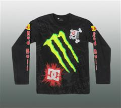 DC MONSTER LANGARM SHIRT Gr. M #19-1