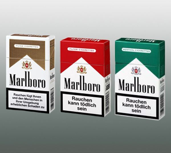 Types of cigarettes Captain Black in Spain