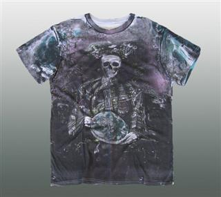 AFFLICTION SHIRT Gr. M / L #037-1