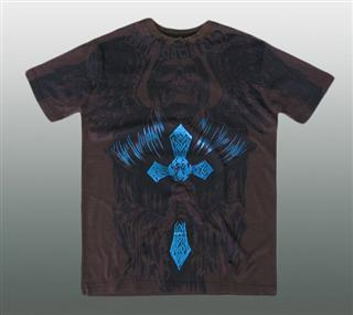 AFFLICTION SHIRT Gr. M #015-3