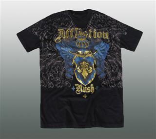 AFFLICTION SHIRT Gr. L #044-1