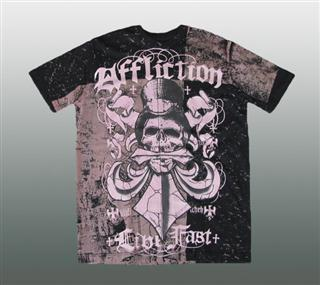 AFFLICTION SHIRT Gr. L #042-2
