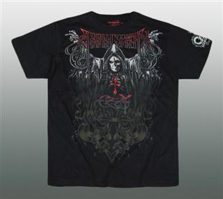 AFFLICTION SHIRT MIT STRASS Gr. M #018-1