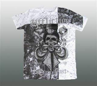 AFFLICTION SHIRT Gr. L #042-1