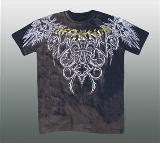 AFFLICTION SHIRT Gr. M #043-1
