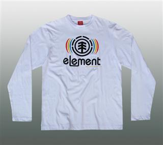 ELEMENT LANGARM SHIRT Gr. XL  Diverse Farben #EL091-3