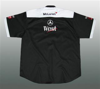 MERCEDES TEAM HEMD #MB-HE03