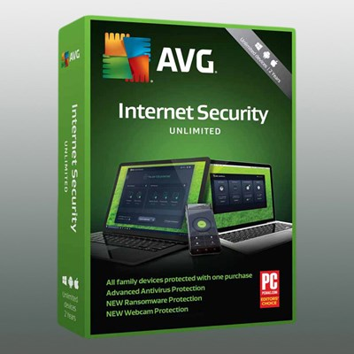 AVG INTERNET SECURITY UNLIMITED 1Jahr