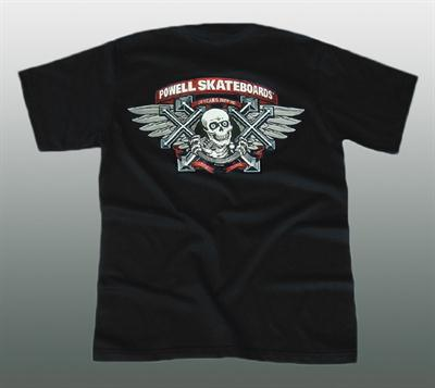 Powell Bones Ripper T-Shirt  Gr. M / L / XL #B1019