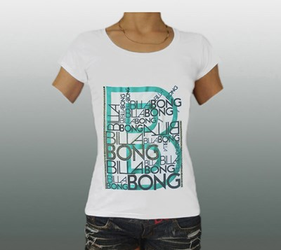 BILLABONG Damen T-SHIRT Gr. M #BB513W