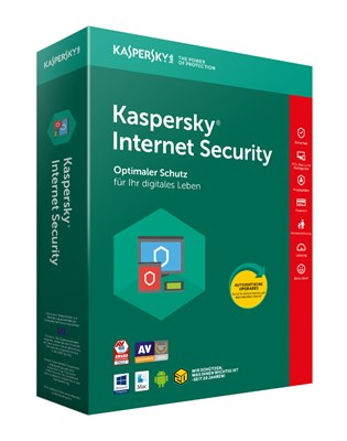 KASPERSKY INTERNET SECURITY 1PC für 2018 PREACTIVATED
