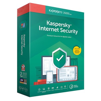 KASPERSKY INTERNET SECURITY 2019 FÜR 1 PC