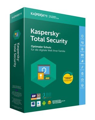 KASPERSKY TOTAL SECURITY 2018 - 3PC MULTI DEVICE - PURE