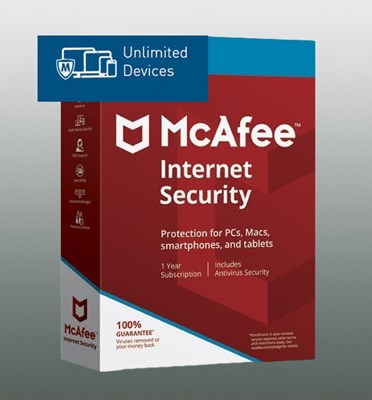 MCAFEE INTERNET SECURITY UNLIMITED 2018