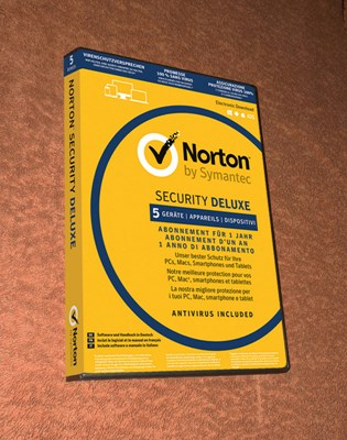NORTON SECURITY DELUXE 5PC