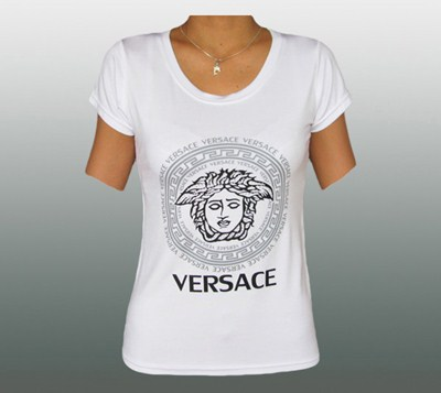 VERSACE DAMEN SHIRT MIT STRASS #VE126