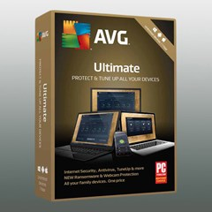 AVG ULTIMATE UNLIMITED 2019 1Jahr